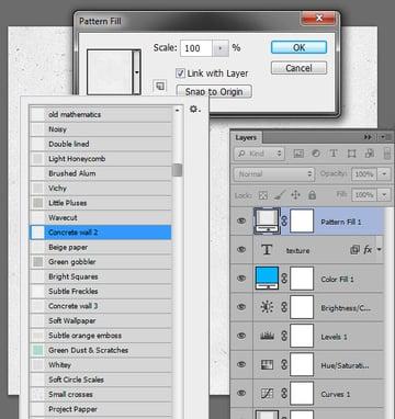 Add a new pattern Layer