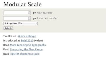 modular-scale