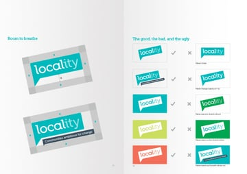 Brand Guidelines for Locality by Naomi Atkinson Design
