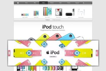 Apple ad comparison