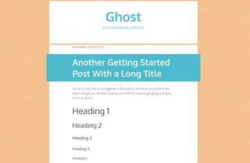 GhostTheming_TakingShape