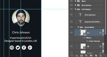 Paste layer style and align icons
