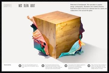 Web Design Trends : Web Design Big Images 2
