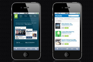 Web Design Trends : Mobile Web Design 4