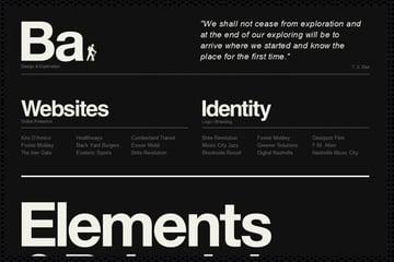 Web Design Trends : Web Typography 7