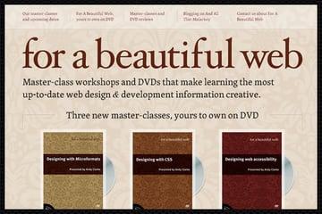 Web Design Trends : Web Typography 9