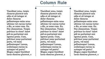 CSS3 Multi Column Rule