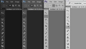Photoshop CS6 The new interface