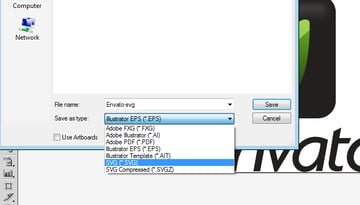 SVG - saving from Adobe Illustrator