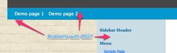 Broken CSS
