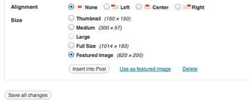 Media Gallery custom sized image choose