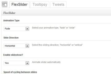Options Framework jQuery Settings