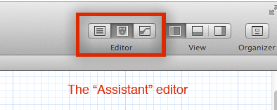 The 'Assistant' editor