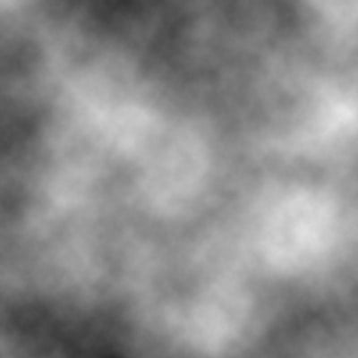 Rendering clouds results in Perlin noise