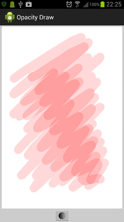 Drawing With Opacity