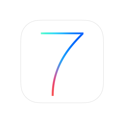 The introduction of iOS 7.