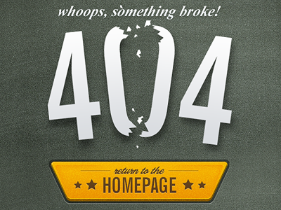 404 sadface - avoid bad requests