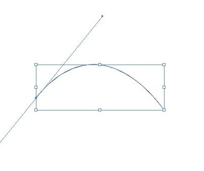 screenshot: creating the curve