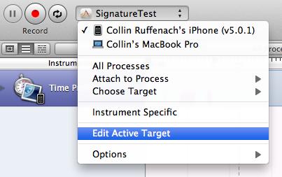 Choose a target