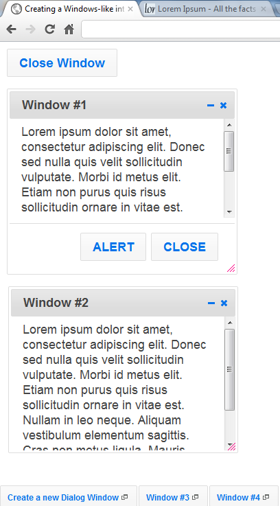 windows-like interface, hurrah!