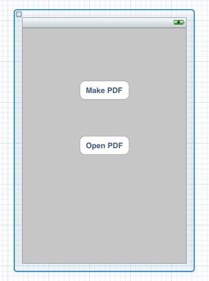 New 'Make PDF' Button