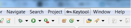 Opening the debug keystore
