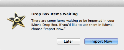 The second step in an iMovie export is to open the app itself.