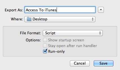 Export Script