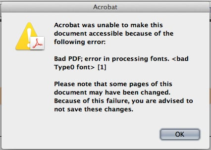 Don't worry about that funky error. It's going to be alright.