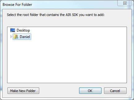 CS6 Choose Directory