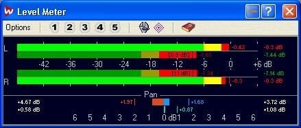 WaveLab has some useful monitoring tools