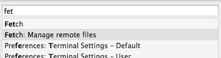 Manage Remote Files