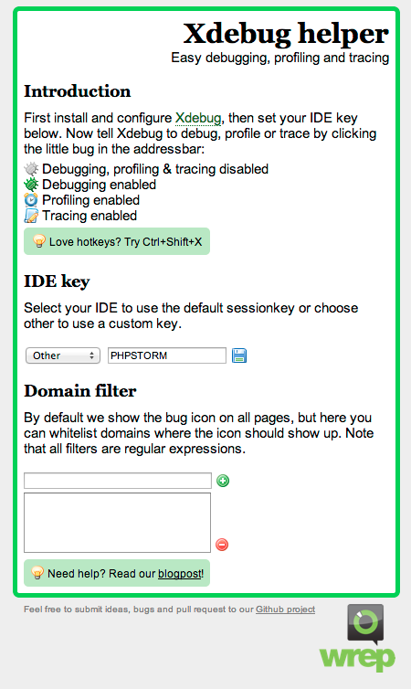 xdebug-browser-extension