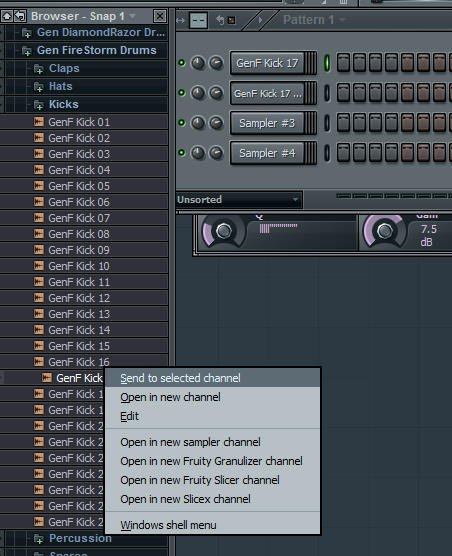 Step 1 - Select Drums