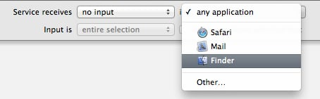 These options are right at the top of the main workflow pane.