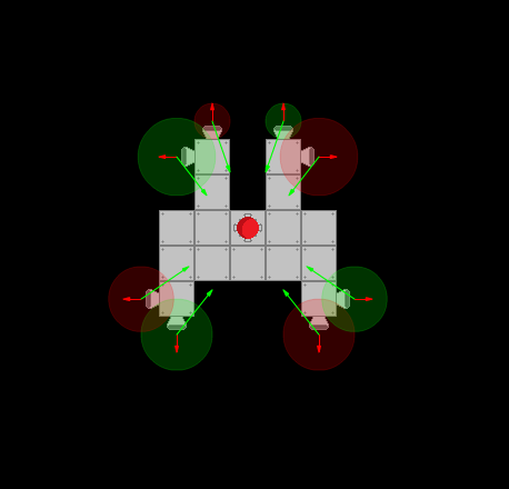 Gamedev Maths and Physics: Using Torque and Thrusters to Correctly Maneuver a Player-Designed Spaceship