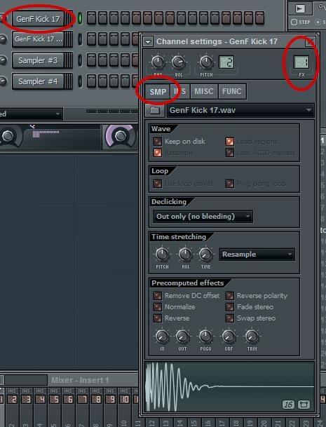 Step 2 - Assign A Mixer Channel