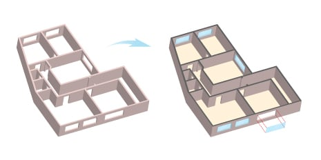 How To Create A 3d Floorplan In Illustrator