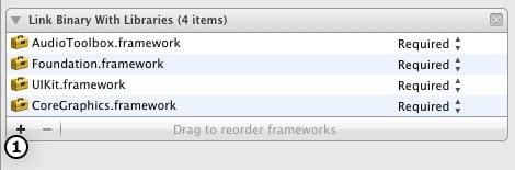 Add a new Framework