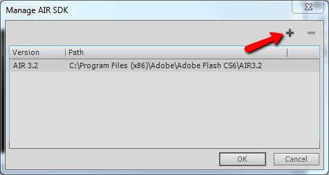 Add a new SDK Folder