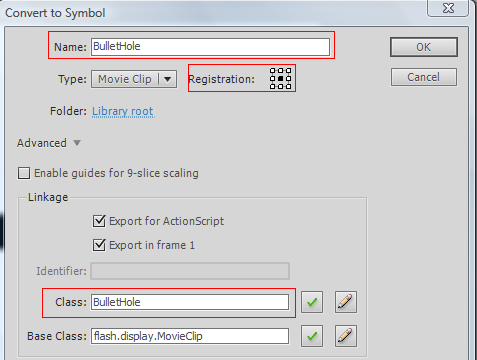 custom cursor movieclip as3 flash