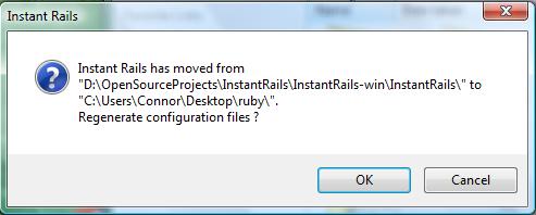 Instant Rails Message