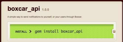Developer Interview, Jonathan George, Boxcar API