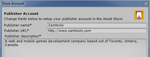 Publisher form top