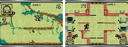 Retro Games with LCD Graphics