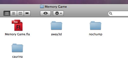 away3d flash game