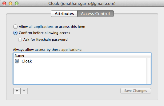 Using Access Control is a great way to add another level of security to your Mac.