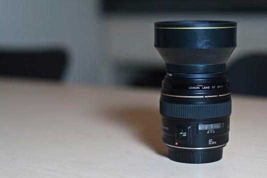 Universal Rubber Lens Hood