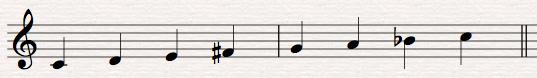 22 lydian b7