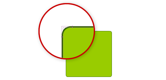 Fixing the blurred rounded corners